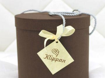"""Дизайнерский шерстяной плед """"Кипарис"""" в подарочной коробке"""