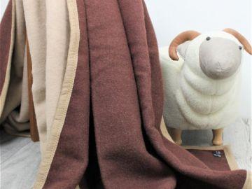 """Дизайнерское шерстяное одеяло """"Арабика"""""""
