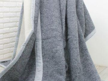 """Одеяло шерстяное """"Сланец"""""""
